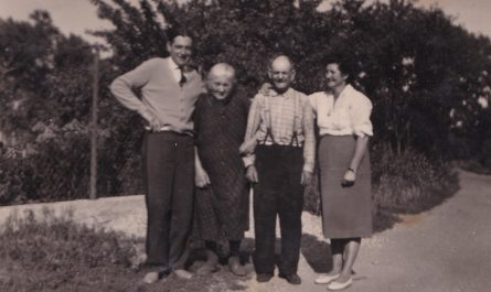 Bernhard Jenni, Maria Weixelbaum-Hofer, Josef Weixelbaum, Helene Jenni-Weixelbaum